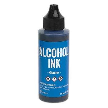 Tim Holtz Alcohol Ink 2oz GLACIER Ranger tag76582