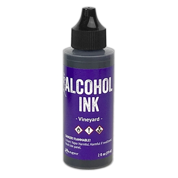 Tim Holtz Alcohol Ink 2oz VINEYARD Ranger tag76612