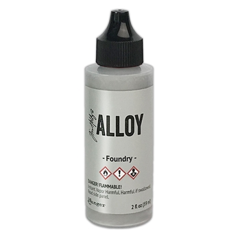 Tim Holtz Alcohol Ink 2oz FOUNDRY ALLOY Ranger tag78302