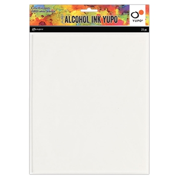 Tim Holtz Alcohol Ink YUPO 8 X 10 Ranger tac76346