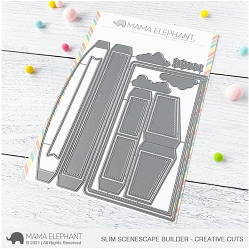 Mama Elephant SLIM SCENESCAPES BUILDER Creative Steel Dies Preview Image
