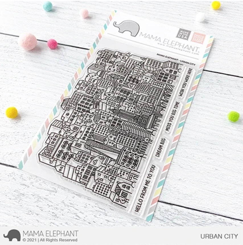 Mama Elephant Clear Stamps URBAN CITY  zoom image