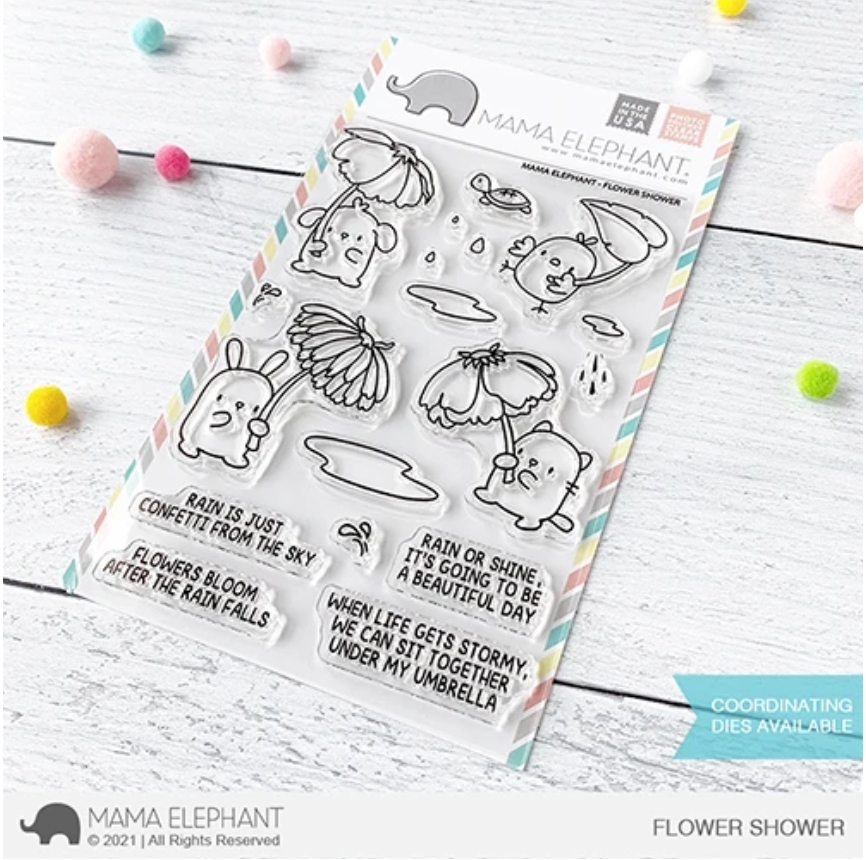 Mama Elephant Clear Stamps FLOWER SHOWER zoom image