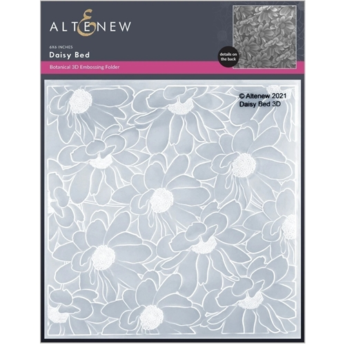 Altenew DAISY BED 3D Embossing Folder ALT6127 Preview Image