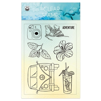 P13 SUMMER VIBES Clear Stamps P13 VIB 30