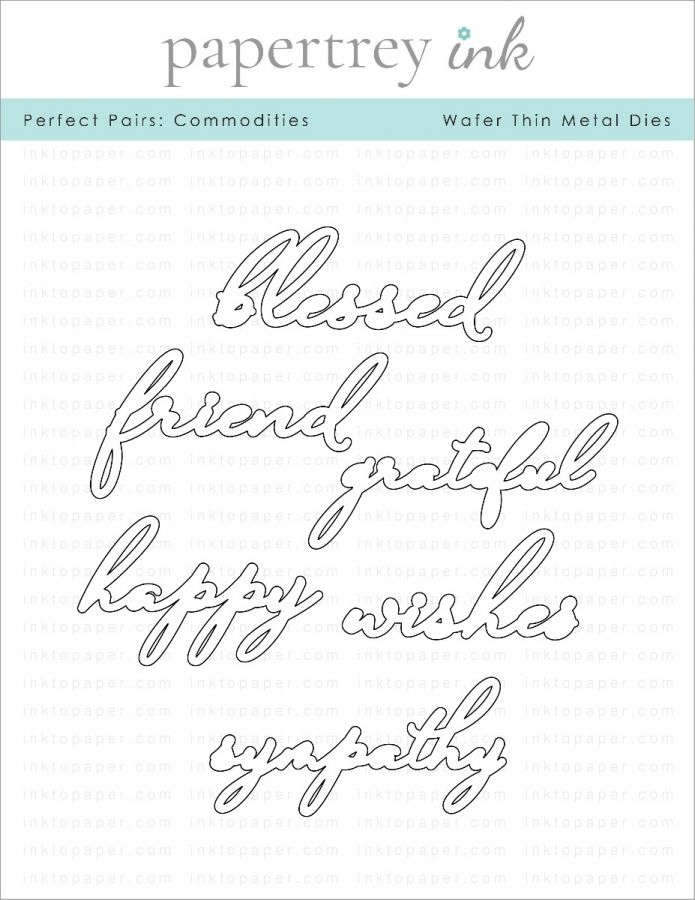 Papertrey Ink PERFECT PAIRS COMMODITIES Dies ITP287 zoom image