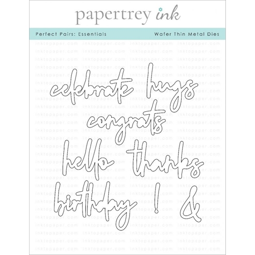 Ink to Paper PERFECT PAIRS ESSENTIALS Dies ITP286 Preview Image