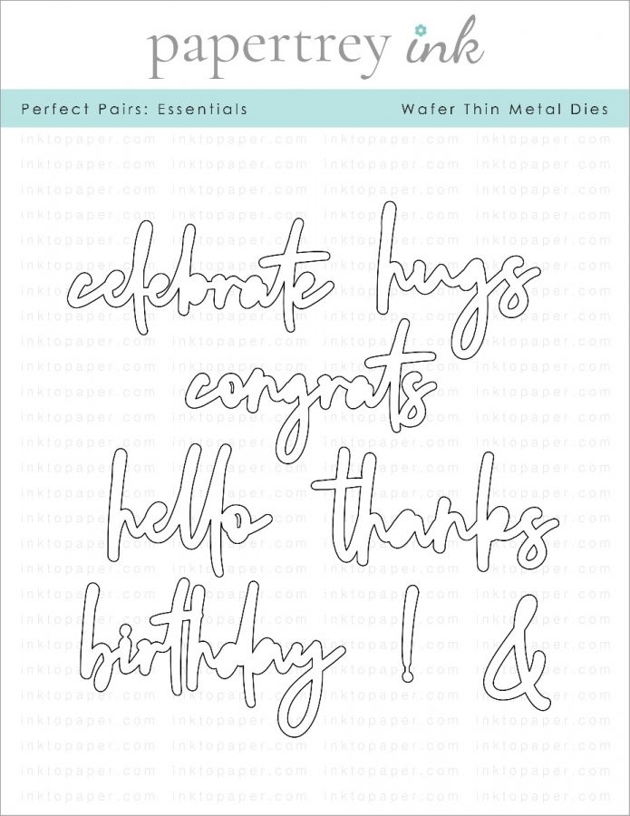 Ink to Paper PERFECT PAIRS ESSENTIALS Dies ITP286 zoom image