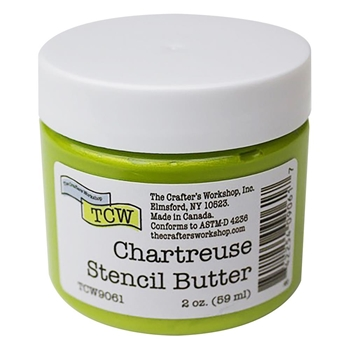 The Crafter's Workshop CHARTREUSE Stencil Butter tcw9061