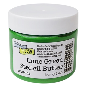 The Crafter's Workshop LIME GREEN Stencil Butter tcw9062
