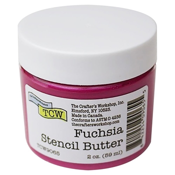The Crafter's Workshop FUCHSIA Stencil Butter tcw9065