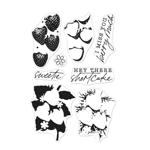 Hero Arts Clear Stamps COLOR LAYERING STRAWBERRY CM539 Preview Image