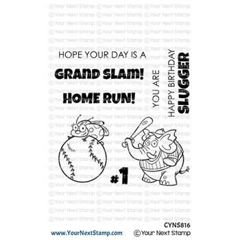 Your Next Stamp GRAND SLAM Clear cyns816