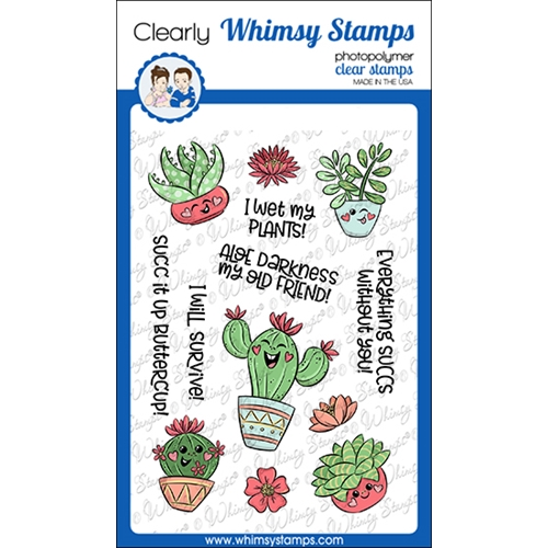 Whimsy Stamps SUCC IT UP Clear Stamps KHB130a Preview Image