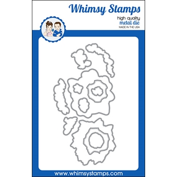 Whimsy Stamps OCTO ELEMENTS Dies WSD410a