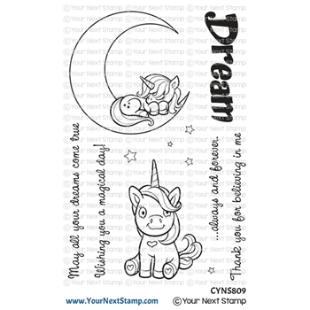 Your Next Stamp UNICORN DREAMS Clear cyns809