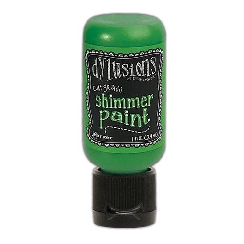 Ranger Dylusions 1oz CUT GRASS Shimmer Paint dyu74403 Preview Image