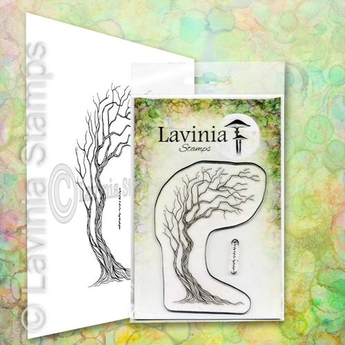 Lavinia Stamps TREE OF COURAGE Clear Stamp LAV657 Preview Image