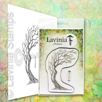 Lavinia Stamps TREE OF COURAGE Clear Stamp LAV657