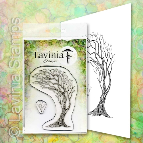 Lavinia Stamps TREE OF HOPE Clear Stamp LAV658 Preview Image
