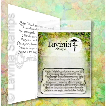 Lavinia Stamps MAGIC SURROUNDS US Clear Stamp LAV669