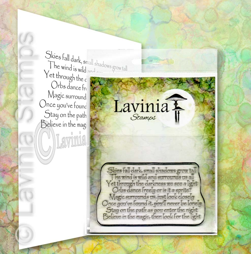 Lavinia Stamps MAGIC SURROUNDS US Clear Stamp LAV669 zoom image
