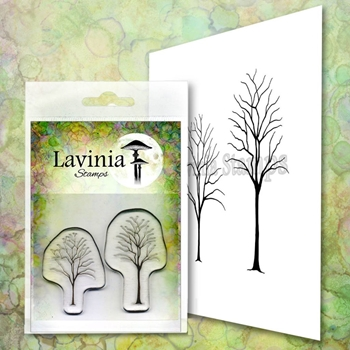 Lavinia Stamps SMALL TREES Clear Stamps LAV663
