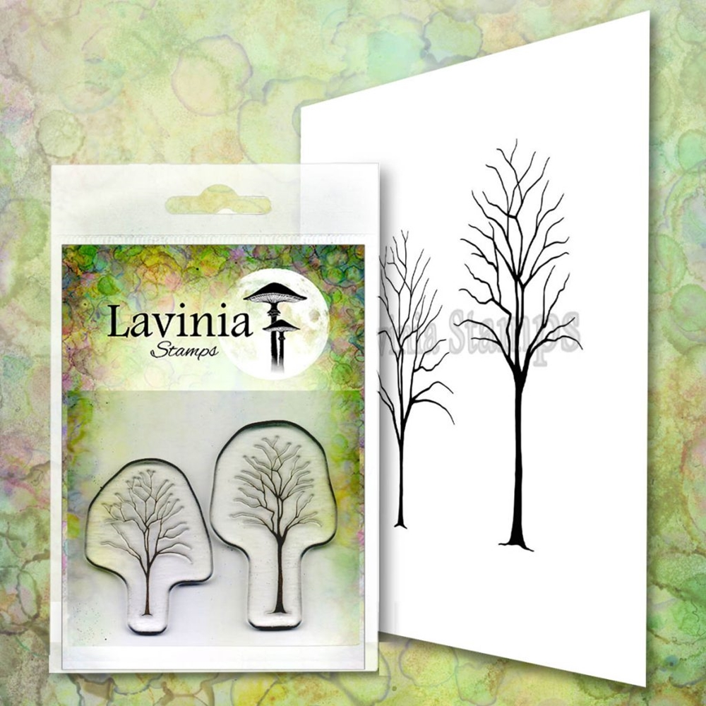 Lavinia Stamps SMALL TREES Clear Stamps LAV663 zoom image