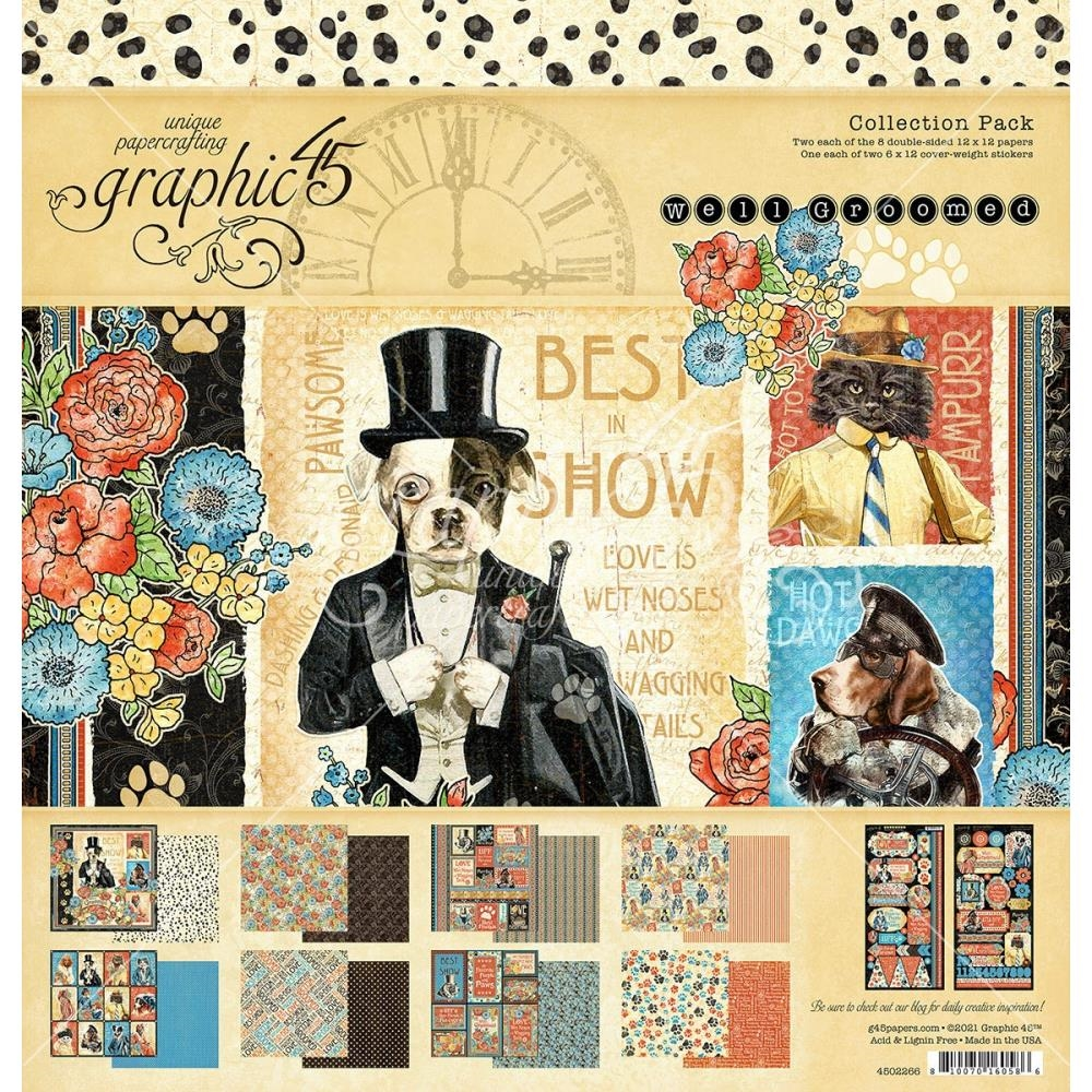 Graphic 45 WELL GROOMED 12 x 12 Paper Pad 4502266 zoom image