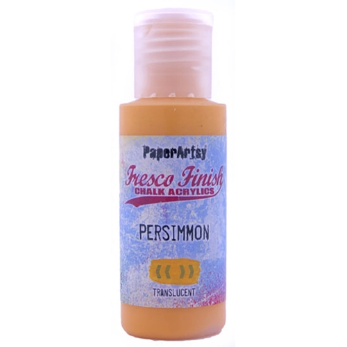 Paper Artsy Fresco Finish PERSIMMON Chalk Acrylic Paint ff209 Preview Image