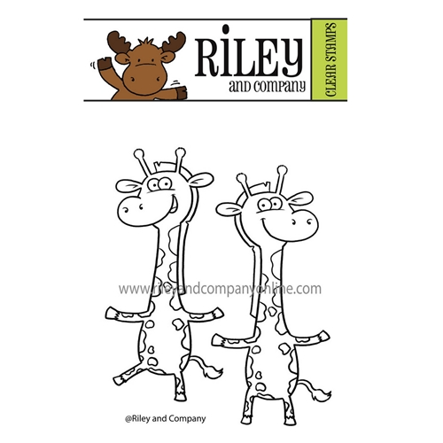 Riley And Company Dress Up GIRAFFE Clear Stamps dur004 Preview Image