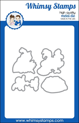 Whimsy Stamps WHAT THE CLUCK Dies WSD415a Preview Image