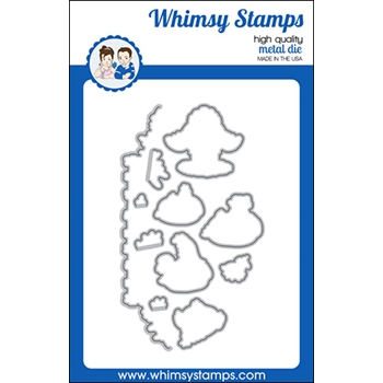 Whimsy Stamps BUTT NUGGETS Dies WSD423a