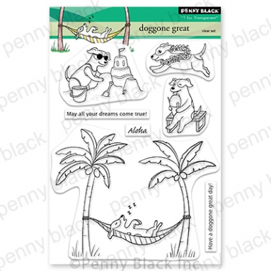 Penny Black Clear Stamps DOGGONE GREAT 30 834 zoom image