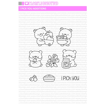 Clearly Besotted I PICK YOU ADDITIONS Clear Stamps