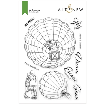 Altenew UP AND AWAY Clear Stamps ALT6196