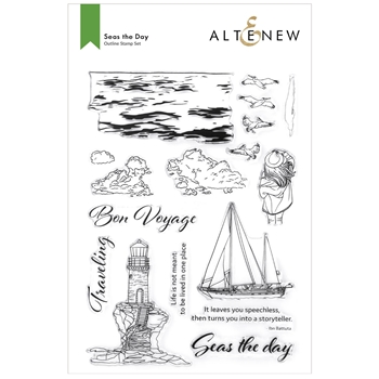 Altenew SEAS THE DAY Clear Stamps ALT6180