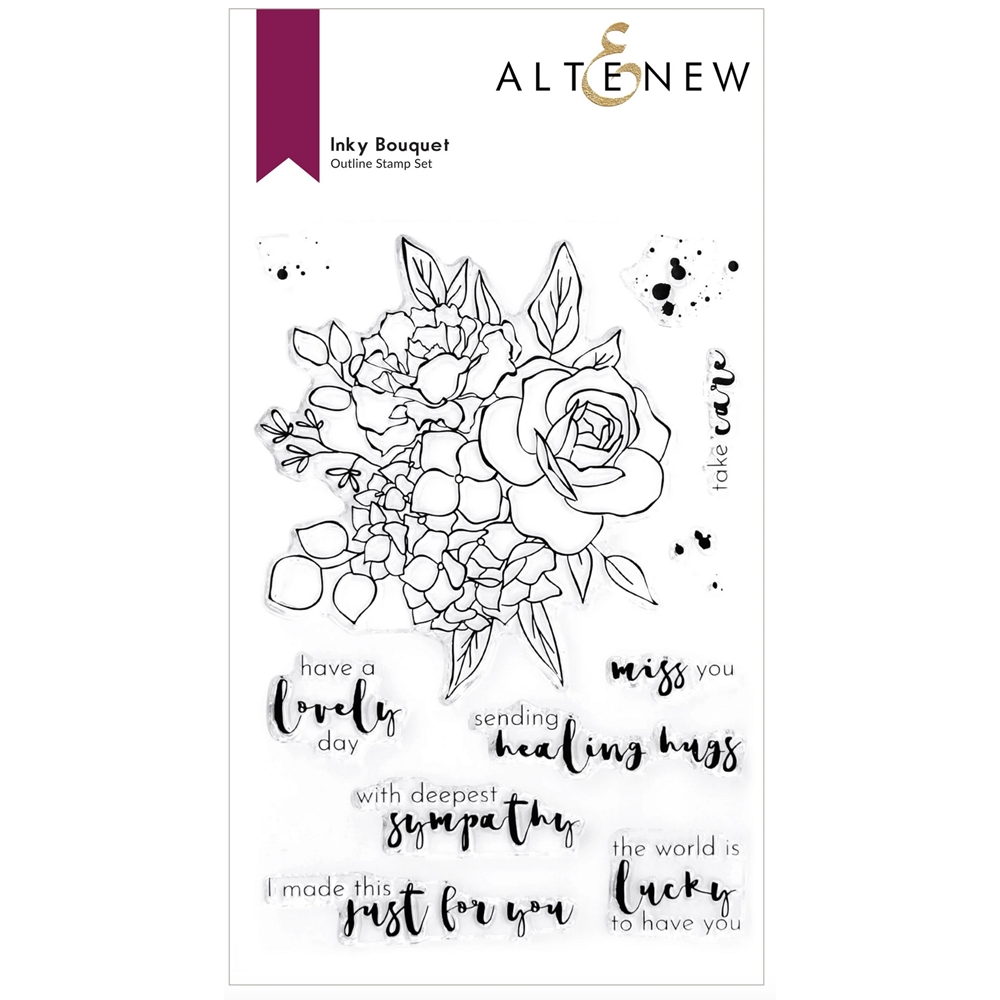 Altenew INKY BOUQUET Clear Stamps ALT6169 zoom image