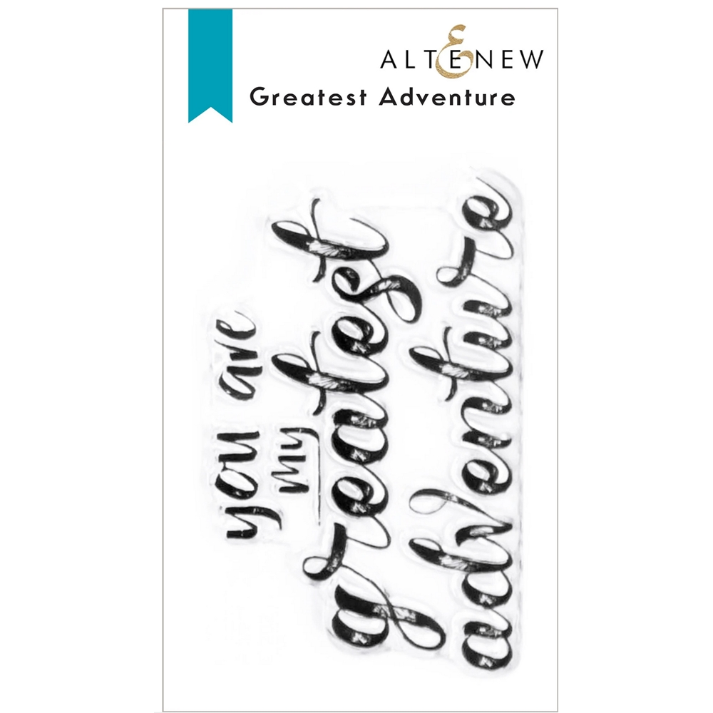 Altenew GREATEST ADVENTURE Clear Stamps ALT6168 zoom image
