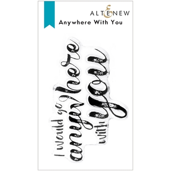 Altenew ANYWHERE WITH YOU Clear Stamps ALT6164