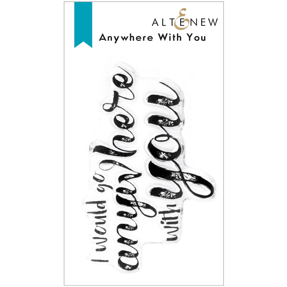 Altenew ANYWHERE WITH YOU Clear Stamps ALT6164 zoom image
