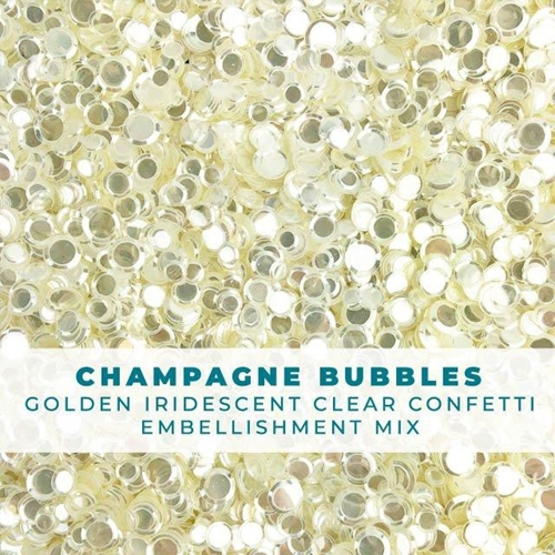 Trinity Stamps CHAMPAGNE BUBBLES Embellishment Box 246078 Preview Image