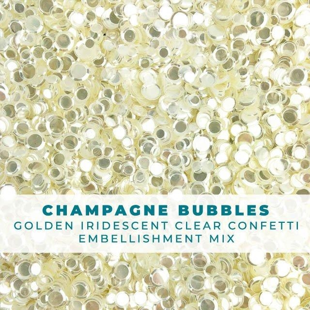 Trinity Stamps CHAMPAGNE BUBBLES Embellishment Box 246078 zoom image