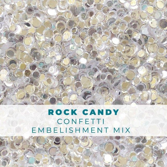 Trinity Stamps ROCK CANDY CONFETTI Embellishment Box 868741 zoom image