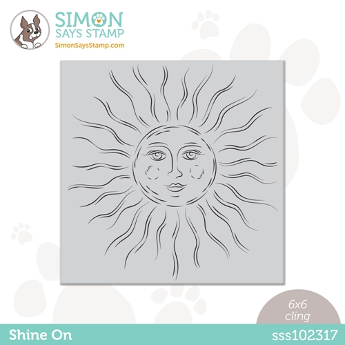 Simon Says Cling Stamp SHINE ON sss102317 Rainbows Preview Image