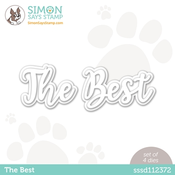 Simon Says Stamp THE BEST Wafer Dies sssd112372 Rainbows