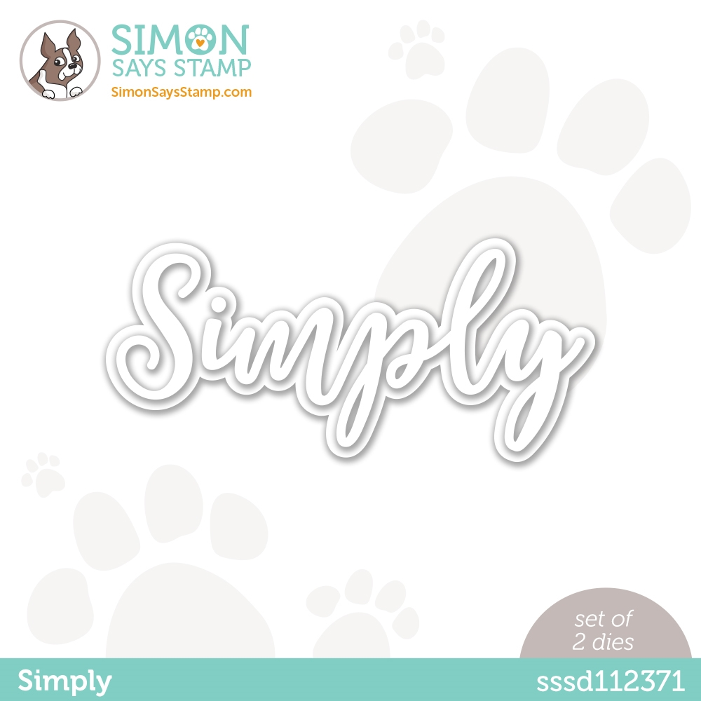 Simon Says Stamp SIMPLY Wafer Dies sssd112371 Rainbows zoom image