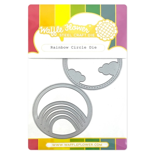Waffle Flower RAINBOW CIRCLE Die 420726 Preview Image