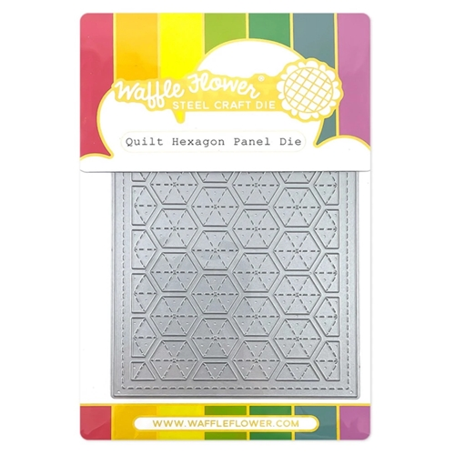 Waffle Flower QUILT HEXAGON Panel Die 420720  Preview Image