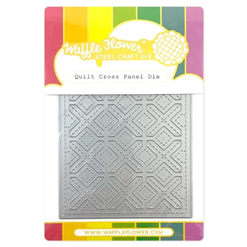 Waffle Flower QUILT CROSS Panel Die 420716 Preview Image